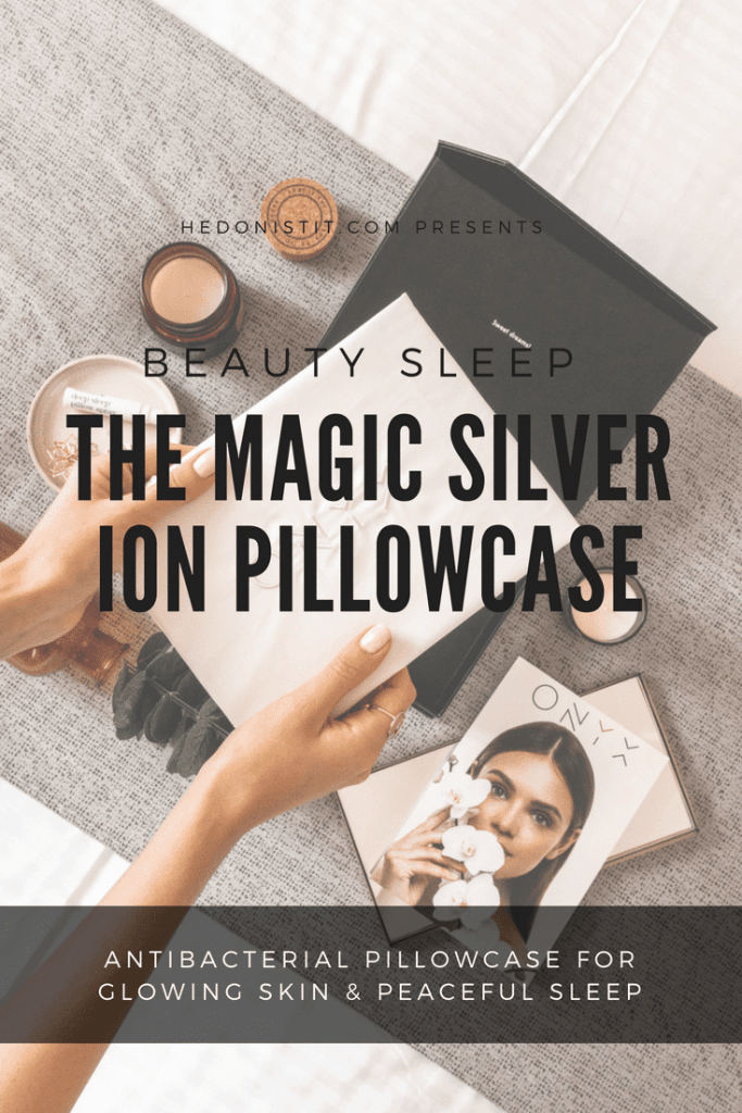 Sleeping & skin tips - Lunar Beauty Pillowcase { Silver-infused Pillowcase For Radiance And Glow } Product Review | www.hedonistit.com