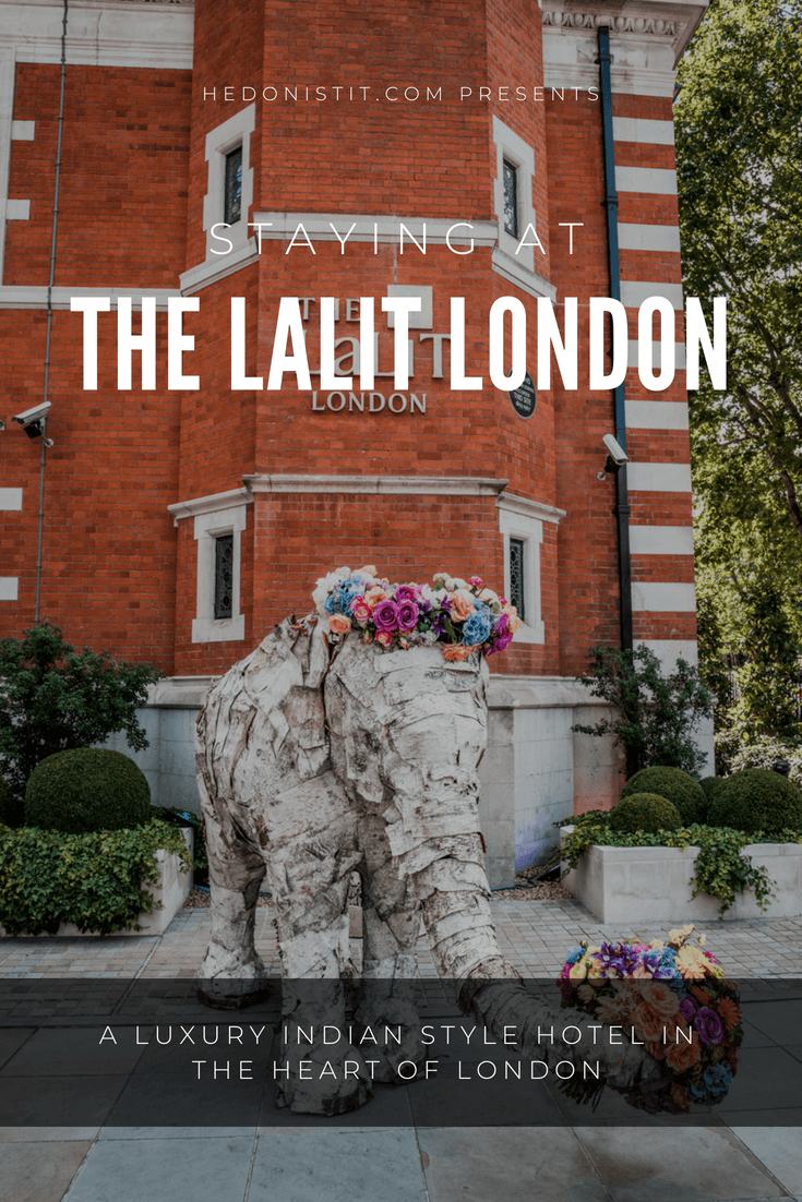 Staying in The LaLit London hotel - A luxury boutique hotel in the heart of London | Hedonistit.com