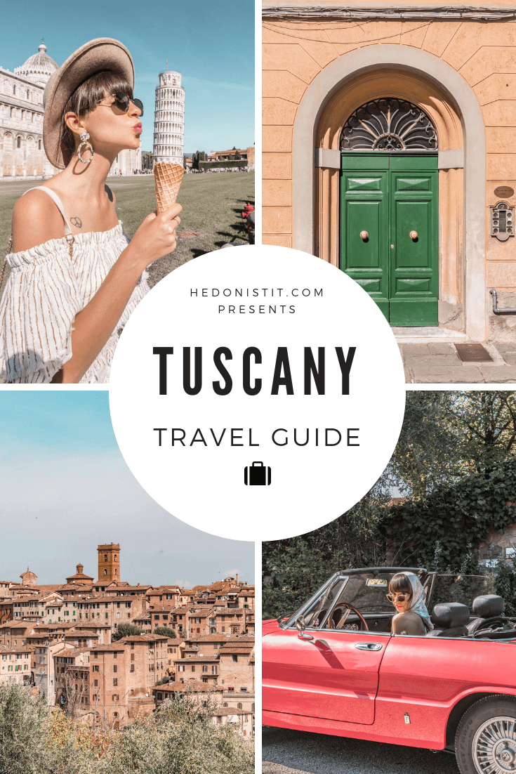 A Guide For Planning A Trip To Tuscany, Italy - Things to do, including food & restaurants tips, wineries, and road trip tips
