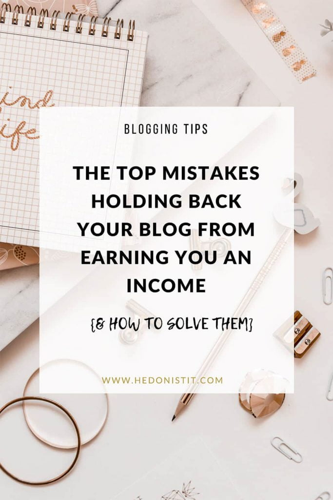 Not Making Money From Your Blog? These Might Be The Reasons... and I have the solutions! :) #blog #blogger #blogging #money