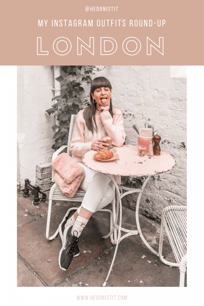 Instagram Outfits Round Up: Winter vacay In London