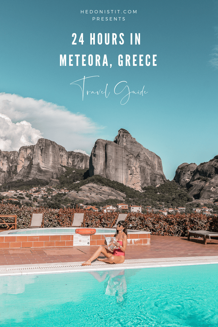 Greece travel guide - 24 hours in Meteora | מטאורה, יוון