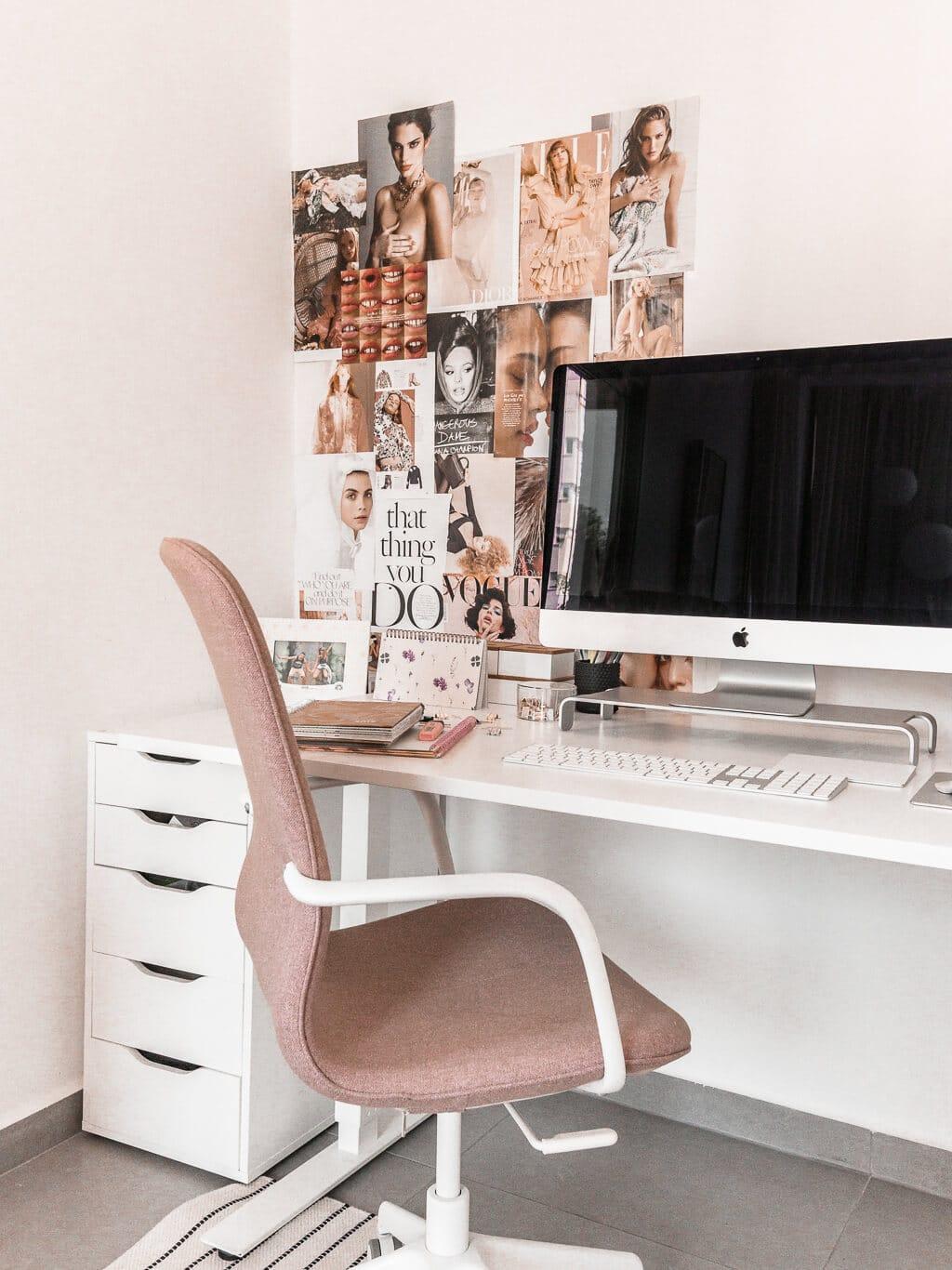 סיור במשרד שלי - עיצוב אקלקטי סקנדינבי, ג׳ונגל אורבני | Hedonistit office tour - eclectic nordic urban jungle home styling