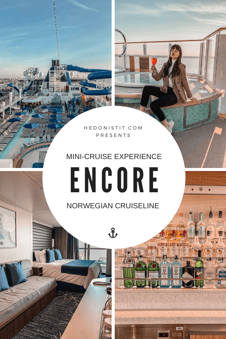 Norwegian ENCORE - My Very First Cruise Experience